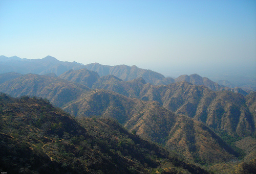 The Aravalli range